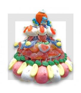 RHODES pièce montée de bonbons