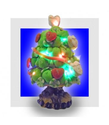 LE SAPIN LUMINEUX Gâteau de bonbons de Noël