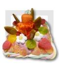 Le CARRE DE SUCETTES - Gâteau de bonbons