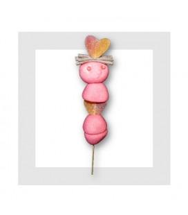 VALENTIN - brochette de bonbons