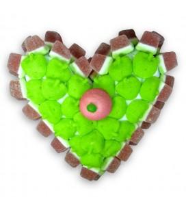 Coeur Pomme-Pastèque