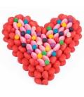 Petit Cœur cent pour cent Haribo coloré