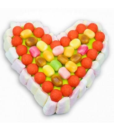 Cœur Haribo Maos -composition de bonbons