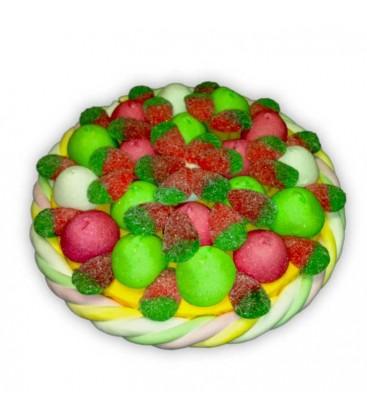 Tarte aux fraises - gâteau de bonbons