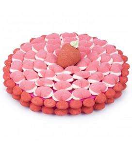 """Tarte aux fraises """"Le Fraisier"""""""
