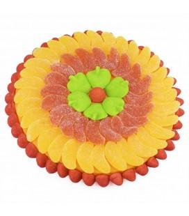 Tartes en bonbons aux saveurs d'agrumes multifruits