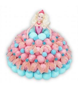 "Gâteau de bonbons ""Princesse Barbie"""