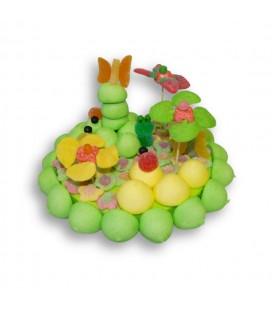 Île aux grenouilles -composition de bonbons