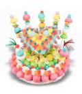 Gâteau Fiesta en bonbons
