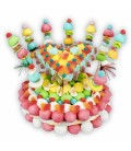 Gâteau Maxi Fiesta en bonbons