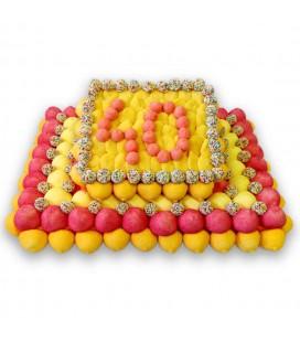 Gâteau Anniversaire 40 ans personnalisable