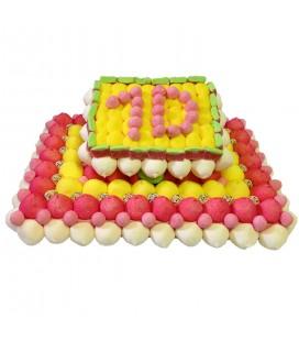 Gâteau Anniversaire 10 ans personnalisable