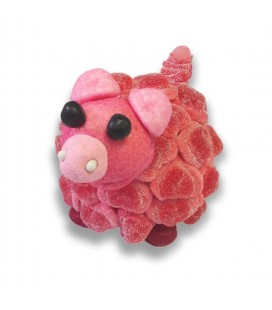 Cochon en bonbons