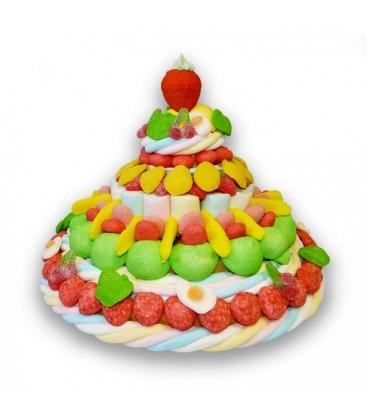 Pièce Montée de bonbons MAXI Tutti Frutti