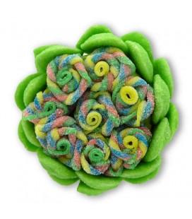 Rose Du Barry en bonbons acidulés
