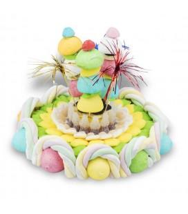 Gâteau de bonbons Festif