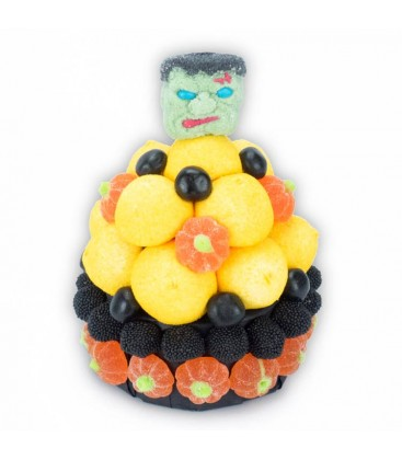 Frankenstein - Grands Cupcakes Halloween