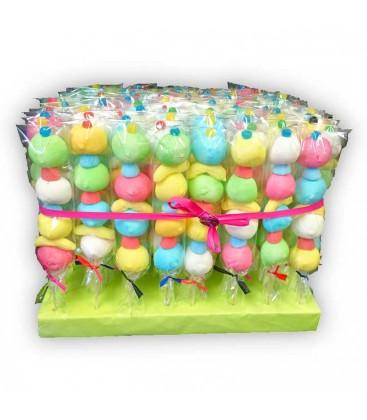 Lot de 40 brochettes bonbons, déco et anniversaire