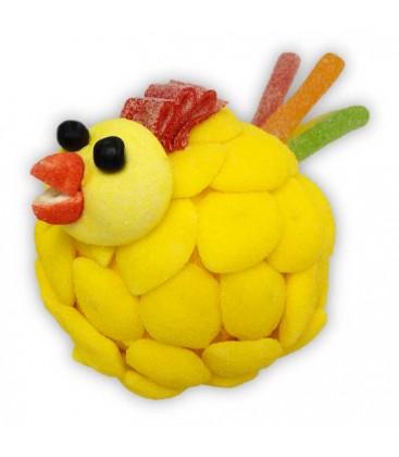 Cocotte - la mère poule en gâteau de bonbons