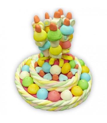 Le Magique - pièce montée de bonbons
