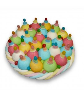 """Le """"Confetti"""" -Gâteau de bonbons"""