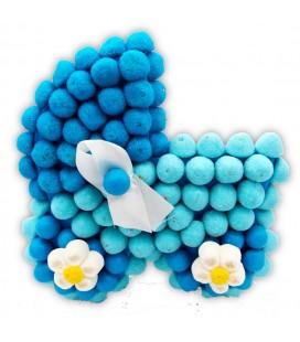 Berceaux en Bonbons Bleus