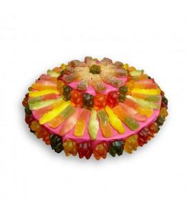 Tarte de bonbons Halal, Multicolore 100% halal