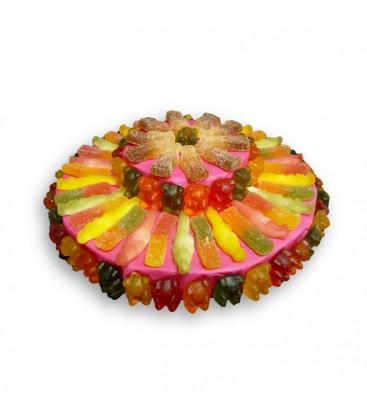 Tarte Multicolore Halal