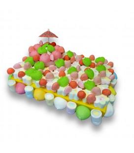 Tarte de bonbons Ombrelle