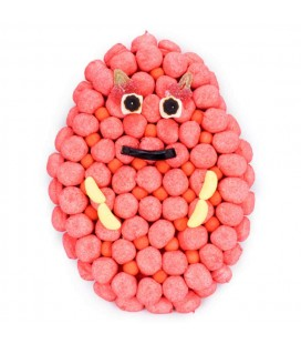 Barbapapa en bonbons Haribo-Personnages et animaux rigolos en bonbons