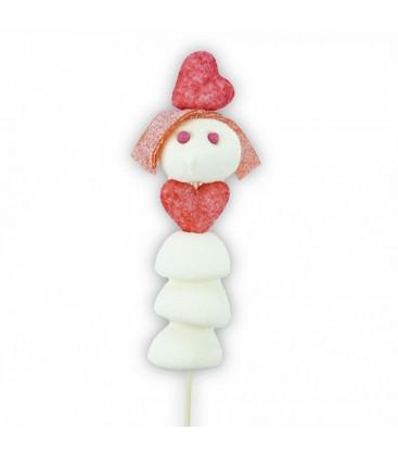 Valentine - L'amoureuse en brochette de bonbons