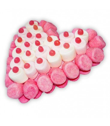 Coeur Pink Haribo