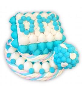 Allez l'OM- Gâteau de bonbons