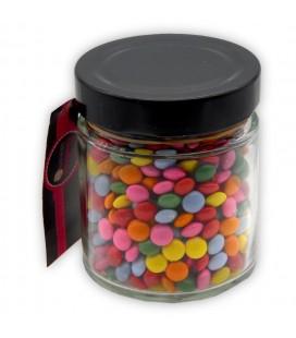 Pot Lisse - Bonbonnière personnalisable de petites lentilles chocolatées