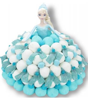 G teaux de bonbons la reine des neiges histoires de princesse - La princesse de neige ...