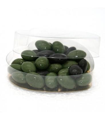 Coeur d'olivette - boite cadeau de chocolat d'excellence