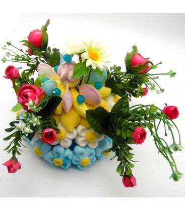 CAMELIA - présentation de fleurs en bonbons