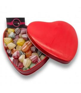 La boite de Berlingots provençaux -Bonbonnière en forme de cœur