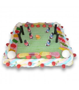 Stade de Rugby - Composition de bonbons