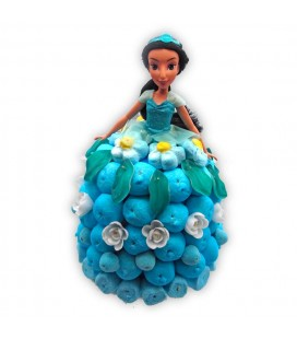 Jasmine - Princesse Disney -Composition de bonbons