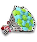 "Bouquet de bonbons ""I LOVE YOU"""