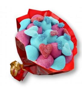 """Bouquet de bonbon """"Ich liebe dich"""""""