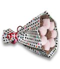 Bouquets Choco ruban rose