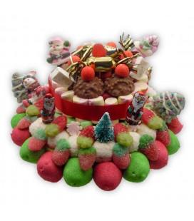 LA Plagne - Gâteau de bonbons pour les fêtes de fin d'année