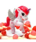 Le secret de la Licorne - Gâteau de bonbons vu de dessus