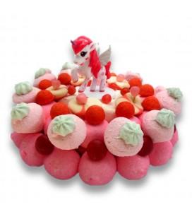 Le secret de la Licorne - Gâteau de bonbons