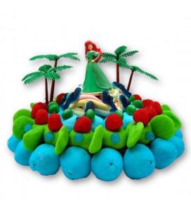 ARIEL la petite sirène - Gateau de bonbons