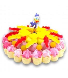 Daisy - Nos héros de Disney en gâteau de bonbons