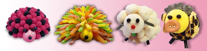 Compositions en bonbons