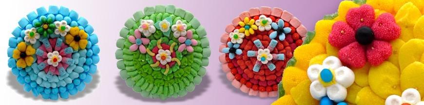 Tartes en bonbons